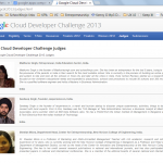 Judging the Google Apps competition 2013