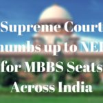 NEET will be the common exam for MBBS across India 2016