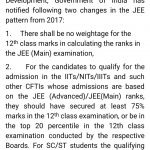 JEE Mains 2018 Ranking vs CBSE Class 12 Board Marks